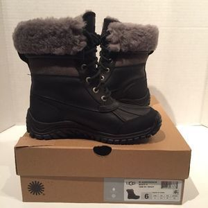 UGG Adirondack II Leather Cuff Waterproof Boots